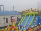 120平新款大滑梯 充气城堡 大型娱乐设备蹦蹦床订做