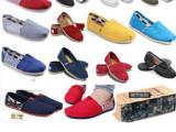 快乐玛丽 男 女鞋 帆布鞋 女 情侣鞋 单鞋 低帮一脚套老北京布