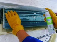 中山市中央空调清洗风轮,家用空调清洗,大型油烟机清洗