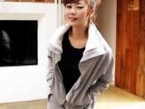 新款女式卫衣套装 韩版秋冬新款 毛内胆套
