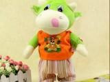 厂家直销电动毛绒玩具牛 走路唱歌牛 电动毛绒公仔 儿童礼物