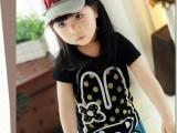2014夏季童装 儿童短袖T恤 韩版童装 女童打底衫 童夏款