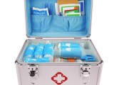 科洛ZE-L-006A 急救箱 家用套装 医药箱铝合金出诊箱
