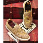 工厂直营2015秋季新款帆布鞋男士平底板鞋水钻单鞋乐福鞋广州潮鞋