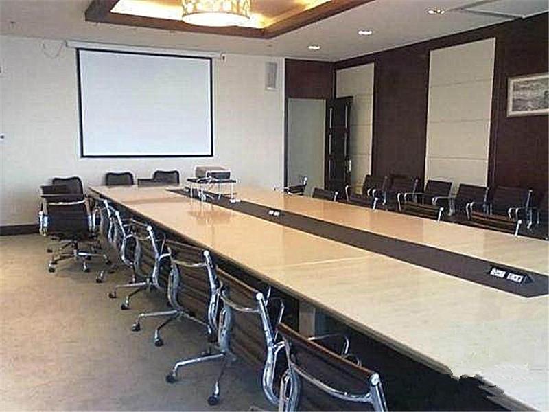 盈都大厦1000平米整层精装修写字楼出租带办公家具