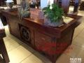 银川市老船木办公桌家具茶桌椅子客厅沙发茶几茶台实木会议大板桌