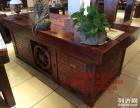 大连市老船木办公桌家具茶桌椅子客厅沙发茶几茶台实木会议大板桌