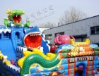 儿童玩具沙滩池钓鱼池气包充气蹦蹦床陆地城堡冲关广场庙会小投资