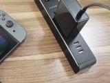 FLYPOWER TYPE-C充电器 美规 黑色 (折叠角)
