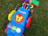 运动套装 幼儿园儿童室内高尔夫球杆套装