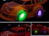 创意DIY早教发光益智地摊热卖玩具 公仔模型电动塑胶儿童玩具批发