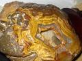 内蒙火山玛瑙原石,罕见阴石,奇石收藏者进