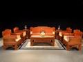 一吨缅甸花梨能做几件沙发