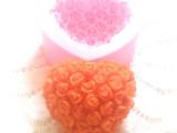 爱心玫瑰翻糖蛋糕模  手工皂模具 硅胶翻糖模具 烘焙工具 SQ1