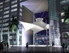 定制膜结构景观棚广场张拉膜专业厂家指导安装