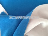 厂家直销纬编全涤素色复合摇粒绒 现货棉服保暖衣绒布面料批发