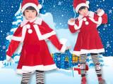 儿童圣诞节服装 男女童圣诞服饰 圣诞老人装扮童装圣诞表演服mda