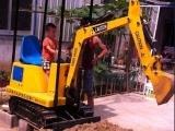 游乐挖掘机儿童游乐场大型挖掘机游乐场大型儿童投币仿真挖机玩具