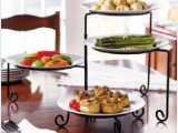 欧式铁艺四层点心架 蛋糕架糕点架婚庆生日婚礼蛋糕架 可折叠特价