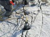 岩石静爆可控制飞石震动