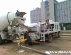 肇庆二手三一混凝土90车载泵二手中联90混凝土车载泵天泵出售