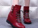 厂家直销2014新款马丁靴女时尚欧洲站靴子女短靴加绒女鞋潮