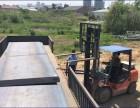 雨花台Q235c钢板租赁厂家雨花台租赁铺路耐磨钢板