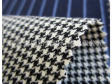 羊毛面料厂家 精纺羊毛布料  千鸟格面料布料 秋冬面料