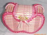 供应女包、竹丝卡通包包、斜挎包、爆款苹果造型、粘贝壳DIY竹包