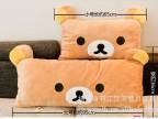 厂家直销 轻松熊阿狸 抱枕靠垫双人单人可拆洗抱枕大号优质供应