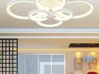 现代创意大气简约时尚LED吸顶灯 客厅灯餐厅卧室灯具艺术灯饰