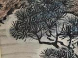 王雪涛手绘仙鹤画,画工精细,整幅画色彩艳丽,保存完