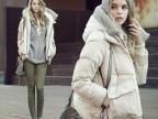 2013冬季新款女士韩版羽绒服加厚连帽短款欧洲站大码羽绒服军工装