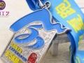 专业定制合肥金属烤漆奖牌 磨砂工艺奖牌挂牌设计制作