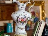 欧式宫廷奢华 加西亚宫廷风陶瓷装饰摆件花