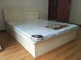 北京便宜双人床 折叠床 木质箱式床 铁艺席梦思床