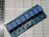 带光耦 8路继电器模块 扩展板继电器模块