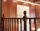 上海高端别墅楼梯设计品家实木楼梯价格别墅水泥木楼梯