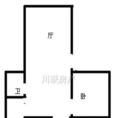 四中学区房东盛苑 2室1厅 主卧 朝东 简单装修