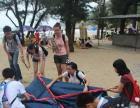 闸坡沙滩烧烤帐篷露营