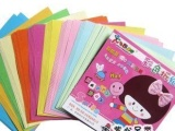 儿童手工纸彩纸/幼儿手工折纸材料彩色折纸