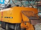 长沙租赁混凝土输送泵车,销售回收二手泵车