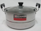 优质生活之选 单层蒸锅 大汤锅 炖锅烹饪锅具电磁炉锅