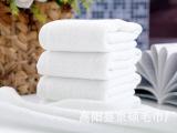 50克  纯棉  21股  白方巾 宾馆酒店用白毛巾餐饮白方巾广