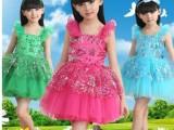 新款儿童舞蹈裙公主裙女幼儿舞蹈服装演出服女童现代舞表演纱裙