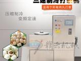 大型商用变频打肉机潮汕牛肉丸鱼圆打浆设备可调速制冷搅肉机子