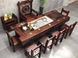 温州船木海螺孔茶台批发老船木茶台茶几船木休闲茶桌