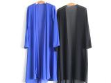 女装2015夏季新款加长雪纺长开衫 纯棉休闲女式风衣外套 厂家直