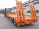 低平板 勾机板半挂车 挖掘机运输车 拖板1年1万公里面议