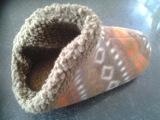全包棉绒类拖鞋 点塑布鞋底 面包拖鞋,加工各种类型室内拖鞋。